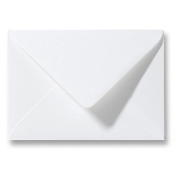 Blanco envelop 80 x 114 mm