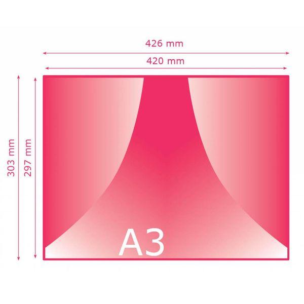 Enkel kaart A3 (297 x 420 mm)