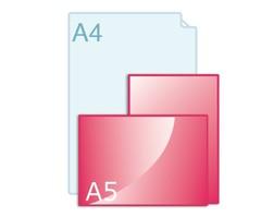 Online flyers drukken op A5 formaat