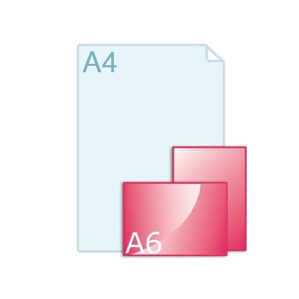 Flyers drukken A6 (105 x 148 mm