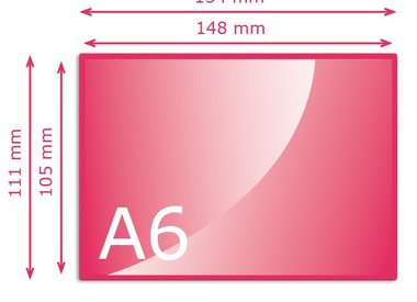 Kleiner dan A6 (105 x 148 mm)
