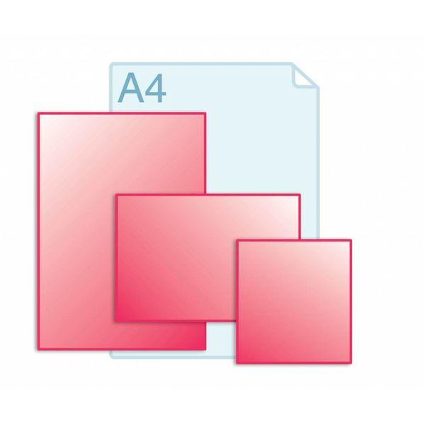 Afwijkend formaat, kleiner dan A4, groter dan A5
