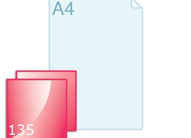 Flyers carré 135 (135 x 135 mm)