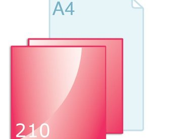 Flyers carré 210 (210 x 210 mm)