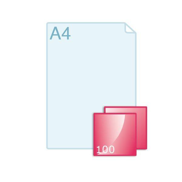 Online flyers carré 100 drukken