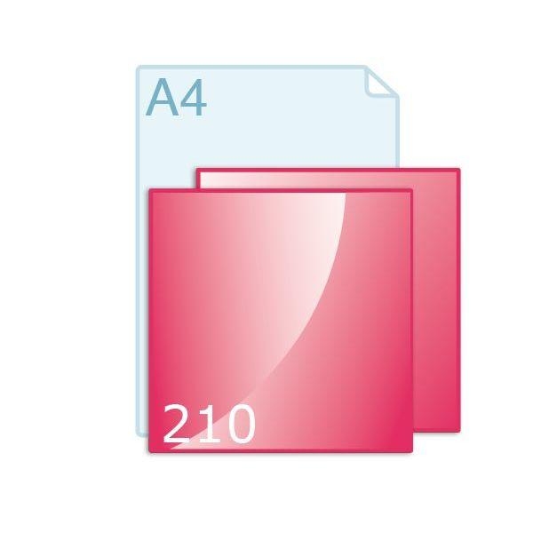 Flyers drukken carré 210 (210 x 210 mm)