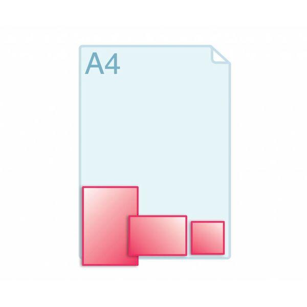 Afwijkend formaat, kleiner dan A6 (105 x 148 mm)