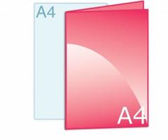 Folders drukken op A4 formaat