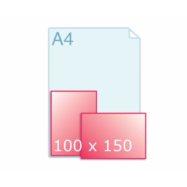 Enkele kaart 100 x 150 mm
