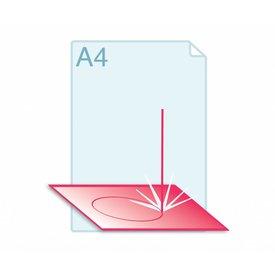 Laserstansen A4 formaat of kleiner