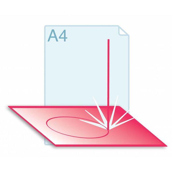 Laserstansen op formaat A3 (297 x 420 mm) of kleiner