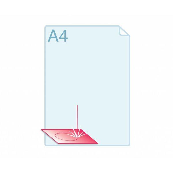 Laserstansen op formaat A6 (105 x 148 mm) of kleiner