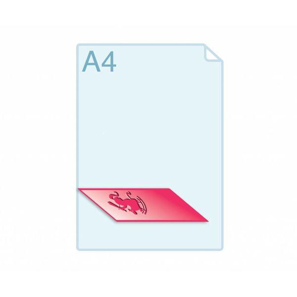 Preegstempel maken tbv het pregen van kaarten