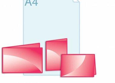 Folders kleiner dan gevouwen A5