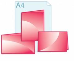 Folders kleiner dan gevouwen A4