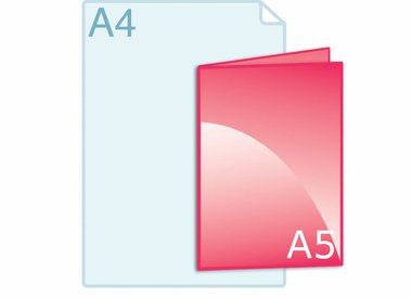 Folders A5 (148 x 210 mm)