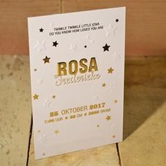 Geboortekaartjes drukken en gratis proefdruk