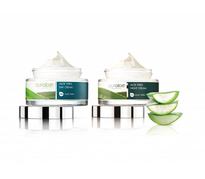 Facial line - Day Cream & Night Cream Combo Aloe Vera Curaloe®