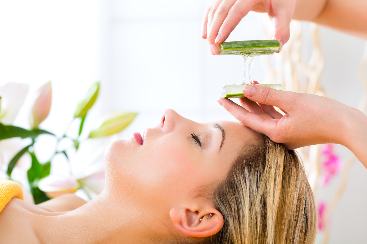 Treatment with Aloe Vera