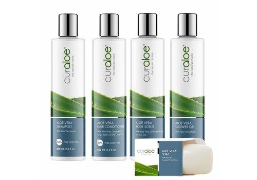 Curaloe® Shower line - Shower Combo Aloë Vera