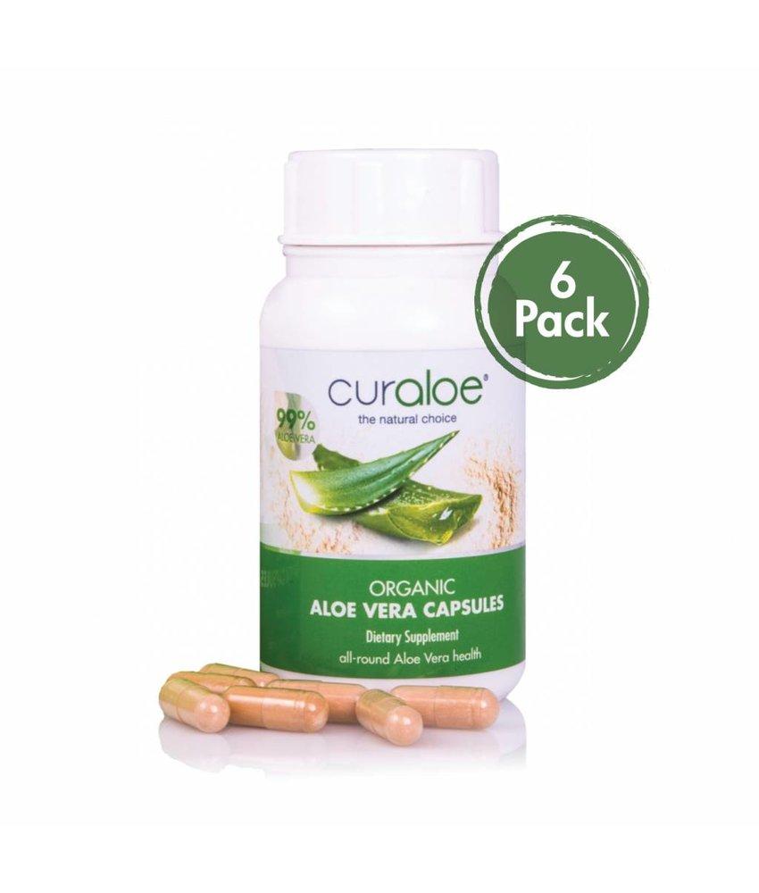 Health line - Organic Aloe Vera Capsules 6-pack