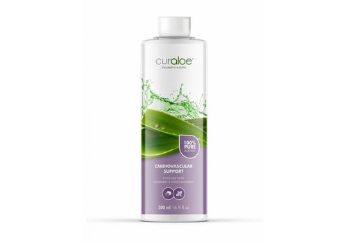 Curaloe® Cardiovascular support Aloe Vera Health Juice - Starterpack