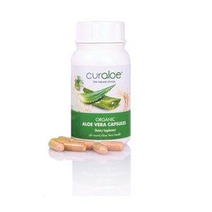Curaloe® Health line - Organische Aloë Vera Capsules - 6 maanden
