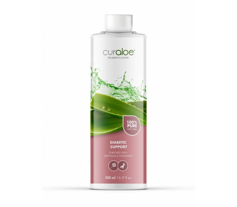 Diabetic support Aloe Vera Health Juice Curaloe - 3 maanden pakket