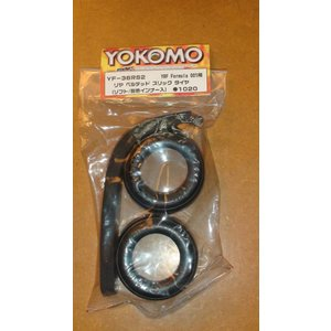 Yokomo Formula 1 rear tire YF-36RS2 2pcs