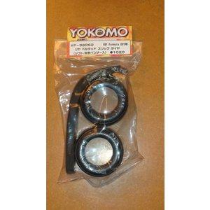 Yokomo F1 tire and wheel kit set soft unglued