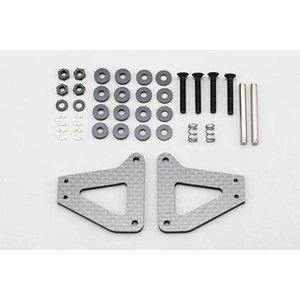 Yokomo Graphite F1 suspension set conversion