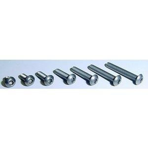 Xenon Racing Titanium button head hex screw M3 8pcs