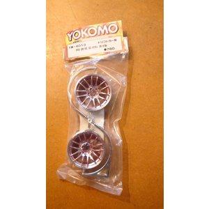 Yokomo RC drift wiel Pro Drive GC-014i 2st