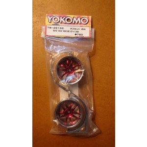 Yokomo RC drift wiel Rays Volk Racing GT-V 2st