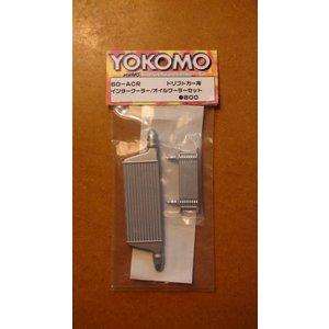 Yokomo RC intercooler/oil cooler set SD-ACR