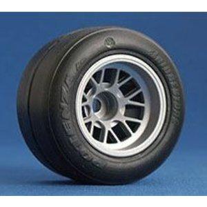 Ride Rear F-1 Rubber tire preglued F104 26023