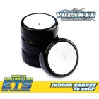 Volante Volante V5 1/10 TC 28CP Indoor Carpet Rubber Tire Pre-glued 4pcs