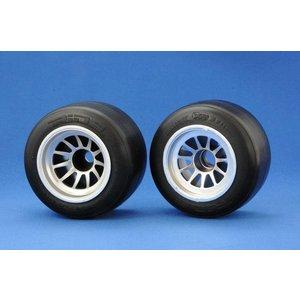 Ride RIDE F104 Rear F-1 Rubber Tire, XR High Grip Compound (preglued)