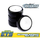 Volante V5 1/10 TC 36R Outdoor Asphalt Rubber Tire Pre-glued 4pcs