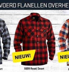 Blaklader 3225 Gevoerd flanellen overhemd in 3 kleurencombinaties