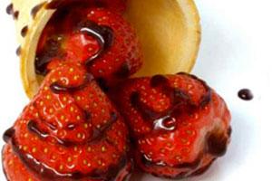 Aardbeien met Balsamico