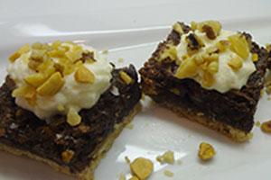 Crunchy chocolade cashew reep