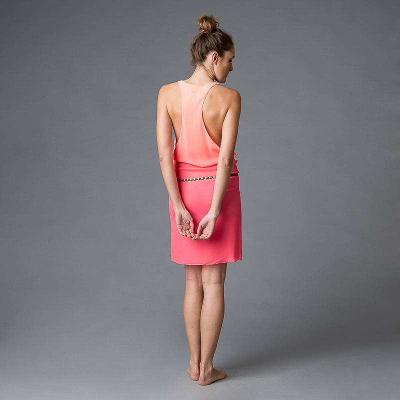 This is Lily Peach wear