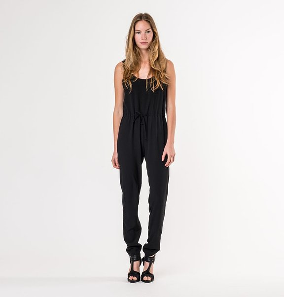 This is Lily Black fitted jumpsuit