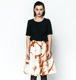 This is Lily My Terms - Cupro and Viscose-Silk Top Black