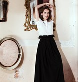 This is Lily None Of Your Concern - Cashmere Wool Skirt Black