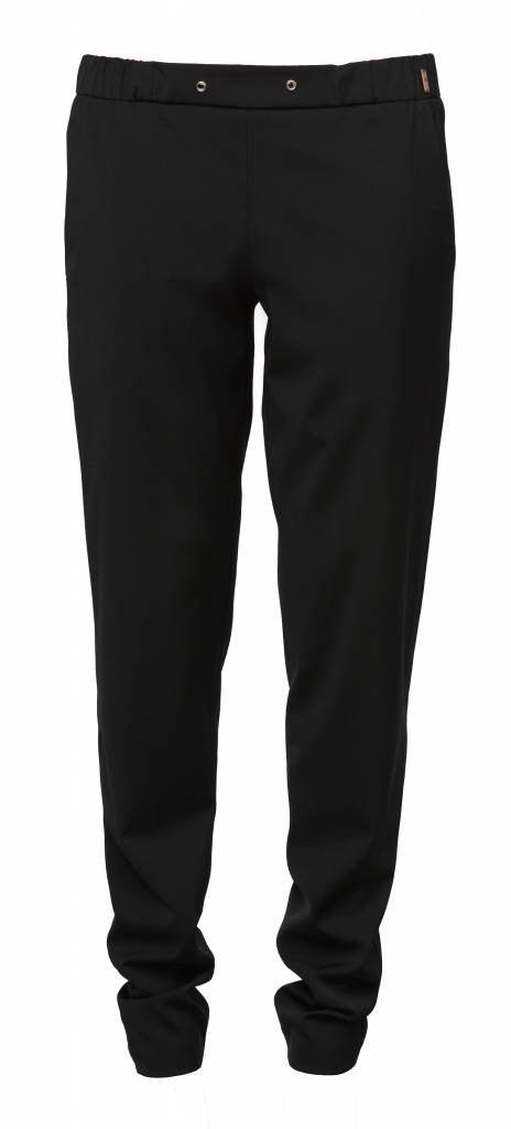 This is Lily Eaglelegtic - Black Wool Jogger