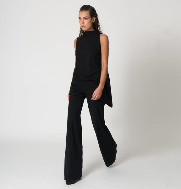 This is Lily Jumpsuit with open back