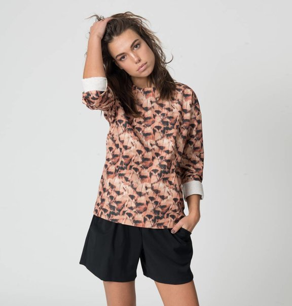 This is Lily Scheer Wool Short Black