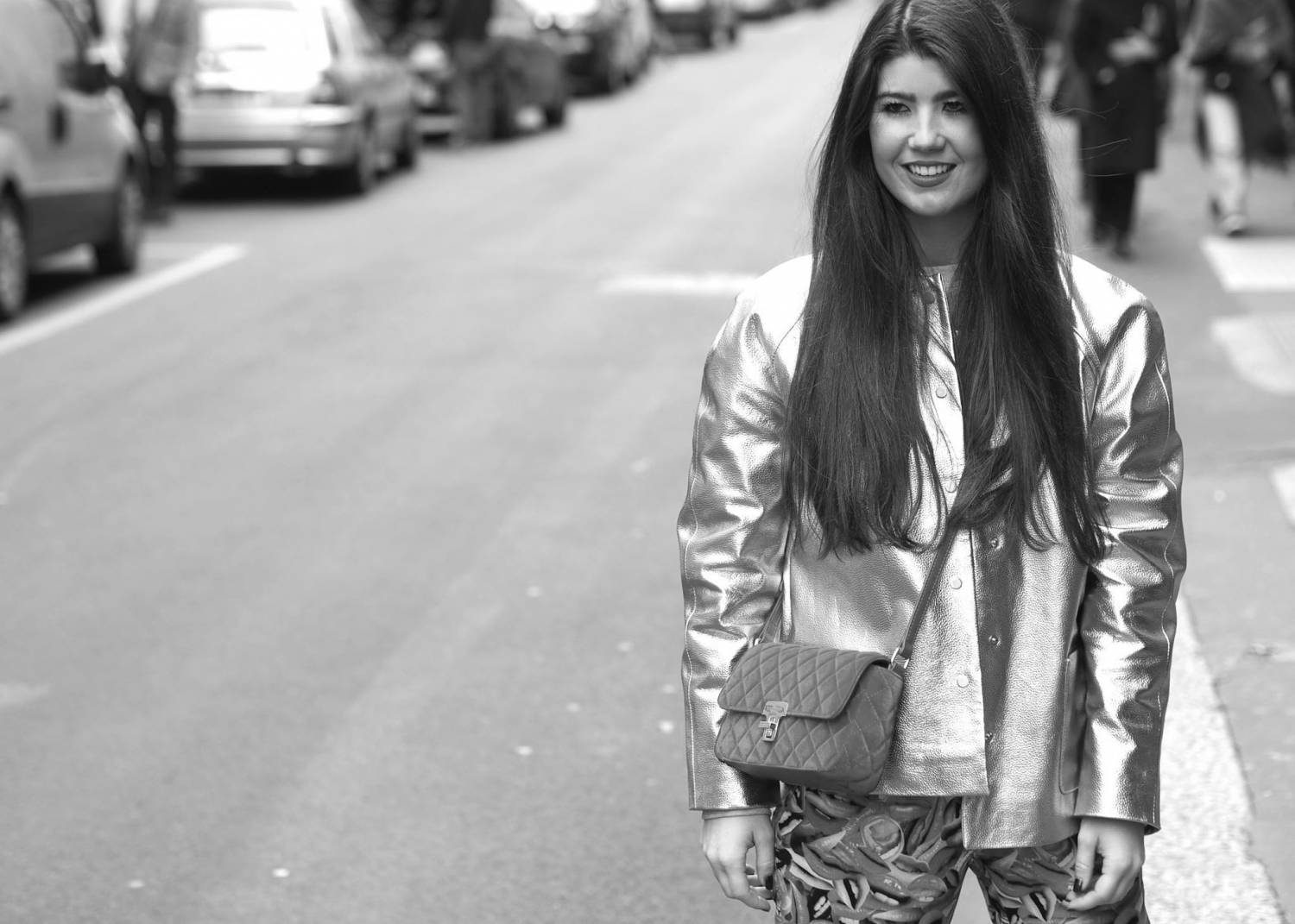 Fashionista Chloë Sterk wearing This is Lily!